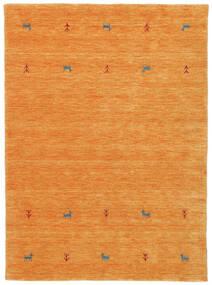 Gabbeh Loom Two Lines - Orange Rug 140X200 Modern Orange (Wool, India)
