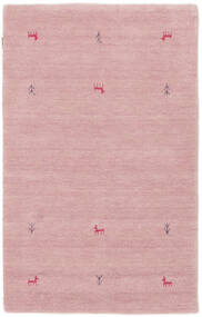 Gabbeh Loom Two Lines - Pink Rug 100X160 Modern Light Pink (Wool, India)