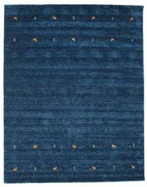 Gabbeh Loom Two Lines - Dark Blue Rug 240X290 Modern Dark Blue (Wool, India)