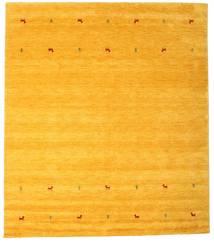 Gabbeh Loom Two Lines - Yellow Rug 240X290 Modern Yellow/Orange (Wool, India)