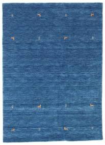 Gabbeh Loom Two Lines - Blue Rug 160X230 Modern Dark Blue/Blue (Wool, India)