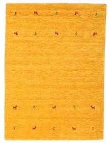 Gabbeh Loom Two Lines - Yellow Rug 140X200 Modern Orange (Wool, India)