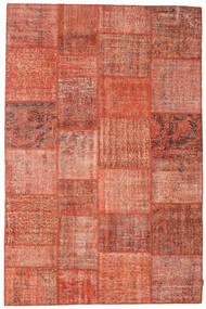 Patchwork Rug 197X300 Authentic  Modern Handknotted Crimson Red/Light Pink (Wool, Turkey)
