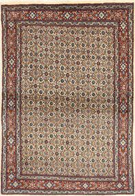 Moud Rug 98X147 Authentic  Oriental Handknotted (Wool/Silk, Persia/Iran)
