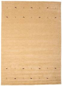 Gabbeh Loom Two Lines - Beige Rug 240X340 Modern Dark Beige/Light Brown (Wool, India)
