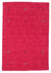 Gabbeh Loom Two Lines - Cerise Rug 100X160 Modern Crimson Red/Pink (Wool, India)