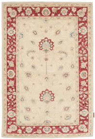 Ziegler Rug 117X182 Authentic  Oriental Handknotted Beige/Dark Beige (Wool, Pakistan)