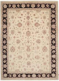 Ziegler Rug 294X405 Authentic  Oriental Handknotted Beige/Dark Brown Large (Wool, Pakistan)