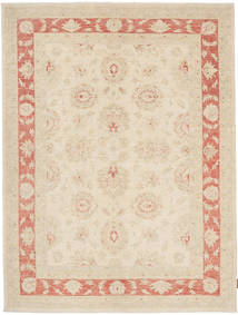 Ziegler Rug 155X210 Authentic  Oriental Handknotted Beige/Light Pink (Wool, Pakistan)
