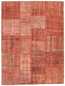 Patchwork Rug 173X233 Authentic  Modern Handknotted Crimson Red/Light Pink (Wool, Turkey)