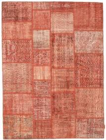 Patchwork Rug 170X231 Authentic  Modern Handknotted Light Pink/Crimson Red (Wool, Turkey)