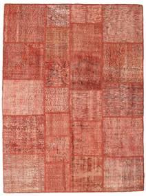Patchwork Rug 171X230 Authentic  Modern Handknotted Crimson Red/Dark Red/Light Pink (Wool, Turkey)