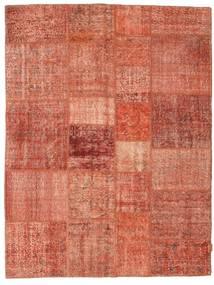 Patchwork Rug 175X230 Authentic  Modern Handknotted Crimson Red/Dark Red/Light Pink (Wool, Turkey)