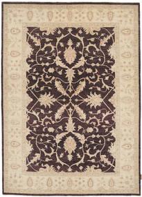 Ziegler Rug 170X237 Authentic  Oriental Handknotted Beige/Dark Brown (Wool, Pakistan)