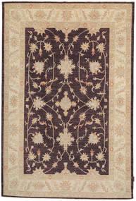 Ziegler Rug 164X250 Authentic  Oriental Handknotted Dark Brown/Dark Beige (Wool, Pakistan)