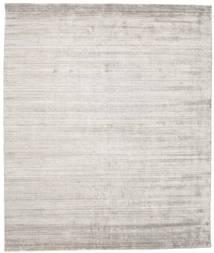 Bamboo Silk Loom - Warm Grey Rug 250X300 Modern Light Grey Large ( India)