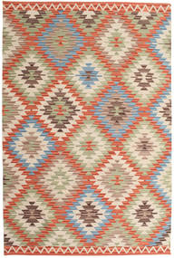 Kilim Oushak Rug 180X275 Authentic  Modern Handwoven Beige/Light Brown (Wool, India)