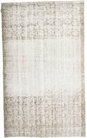 Colored Vintage Rug 160X267 Authentic  Modern Handknotted Light Grey/Dark Beige/White/Creme (Wool, Turkey)