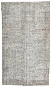 Colored Vintage Rug 160X275 Authentic  Modern Handknotted Light Grey (Wool, Turkey)
