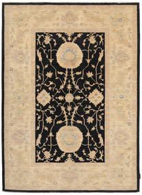 Ziegler Rug 168X235 Authentic  Oriental Handknotted Beige/Black (Wool, Pakistan)