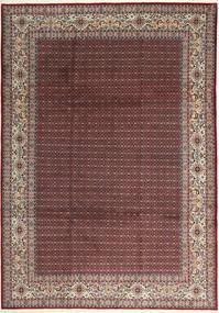 Moud Sherkat Farsh Rug 239X335 Authentic  Oriental Handknotted Dark Brown/Dark Red (Wool/Silk, Persia/Iran)