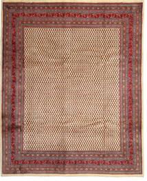 Sarouk Mir Rug 288X360 Authentic  Oriental Handknotted Dark Red/Dark Brown Large (Wool, Persia/Iran)