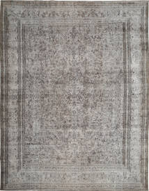 Colored Vintage Rug 289X379 Authentic  Modern Handknotted Light Grey/Dark Grey Large (Wool, Persia/Iran)