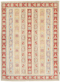 Ziegler Rug 172X238 Authentic  Oriental Handknotted Beige/Dark Beige (Wool, Pakistan)