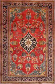 Golpayegan Rug 243X375 Authentic  Oriental Handknotted Rust Red/Dark Brown (Wool, Persia/Iran)
