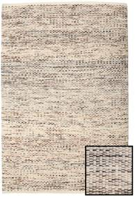 Pebbles - Brown Mix Rug 140X200 Authentic  Modern Handwoven Light Grey/Beige ( India)