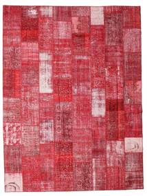 Patchwork Rug 301X400 Authentic  Modern Handknotted Crimson Red/Rust Red Large (Wool, Turkey)