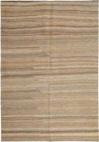 Kilim Modern Rug 158X239 Authentic  Modern Handwoven Light Grey/Light Brown (Wool, Persia/Iran)
