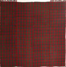 Kilim Modern Rug 195X208 Authentic  Modern Handwoven Square Dark Red/Dark Green (Wool, Persia/Iran)