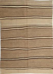 Kilim Modern Rug 166X232 Authentic  Modern Handwoven Light Brown/Dark Beige (Wool, Persia/Iran)