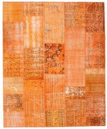 Patchwork Rug 201X246 Authentic  Modern Handknotted Orange/Dark Beige (Wool, Turkey)