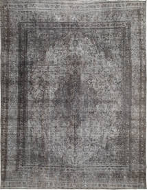 Colored Vintage Rug 285X369 Authentic  Modern Handknotted Dark Grey/Light Grey Large (Wool, Persia/Iran)