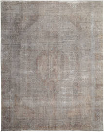 Colored Vintage Rug 288X370 Authentic  Modern Handknotted Light Grey/Dark Grey Large (Wool, Persia/Iran)