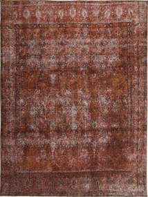 Colored Vintage Rug 283X381 Authentic  Modern Handknotted Dark Red/Dark Brown Large (Wool, Persia/Iran)