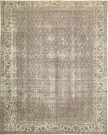 Colored Vintage Rug 290X367 Authentic  Modern Handknotted Light Grey Large (Wool, Persia/Iran)