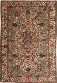 Tabriz Patina Rug 217X323 Authentic  Oriental Handknotted Dark Brown/Light Brown (Wool, Persia/Iran)