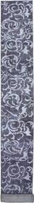 Colored Vintage Rug 72X770 Authentic  Modern Handknotted Hallway Runner  Dark Grey/Light Grey (Wool, Persia/Iran)
