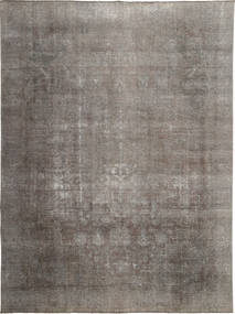 Colored Vintage Rug 280X380 Authentic  Modern Handknotted Dark Grey/Light Grey Large (Wool, Persia/Iran)
