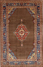 Koliai Rug 200X322 Authentic  Oriental Handknotted Dark Brown/Dark Grey (Wool, Persia/Iran)