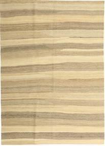 Kilim Modern Rug 165X235 Authentic  Modern Handwoven Beige/Dark Beige (Wool, Persia/Iran)