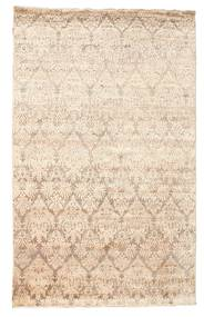 Damask Rug 169X270 Authentic  Modern Handknotted Beige ( India)