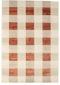 Himalaya Rug 167X241 Authentic  Modern Handknotted Beige/Crimson Red ( India)