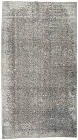 Colored Vintage Rug 152X274 Authentic  Modern Handknotted Light Grey/Dark Grey (Wool, Turkey)