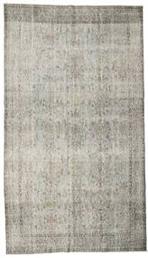 Colored Vintage Rug 170X298 Authentic  Modern Handknotted Light Grey (Wool, Turkey)