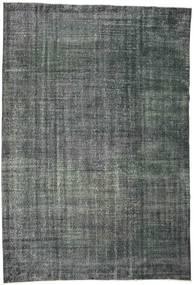 Colored Vintage Rug 192X282 Authentic  Modern Handknotted Dark Grey/Dark Blue (Wool, Turkey)