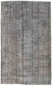 Colored Vintage Rug 160X271 Authentic  Modern Handknotted Light Grey/Dark Grey (Wool, Turkey)